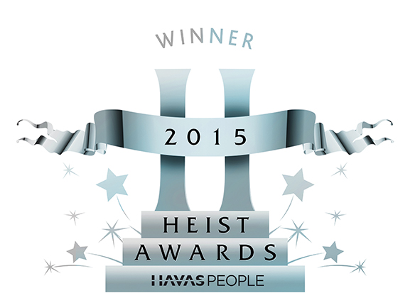 Heist Community Engagement Campaign Award